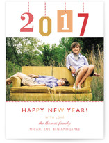 New Year Gift Tag