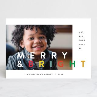 the happy minimalist Holiday Postcards