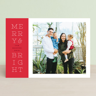 bright stack Holiday Postcards