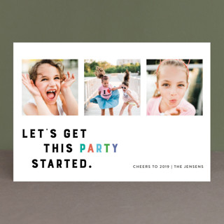 Party Starter Holiday Postcards
