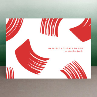 Peppermint Holiday Postcards