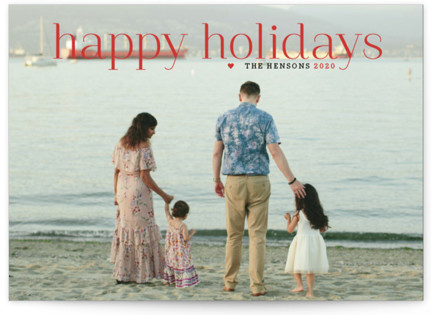Timeless Greeting Holiday Postcards