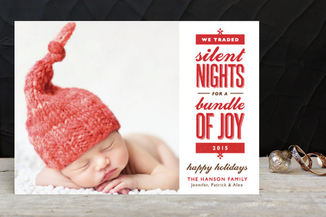 Silent-less Nights Holiday Postcards