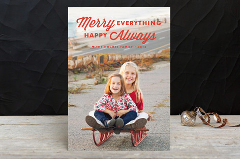Merry Always Holiday Postcards