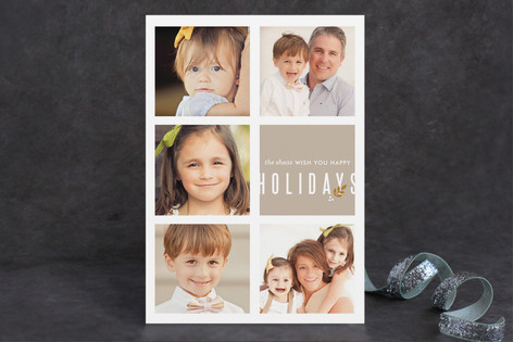 Finely Krafted Holiday Postcards