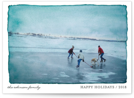 Aquarelle Holiday Postcards