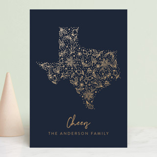 Texas gold Holiday Postcards