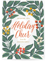 Cheers to the Holidays Holiday Postcards