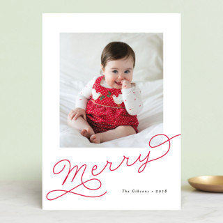 Adorably Merry Holiday Postcards