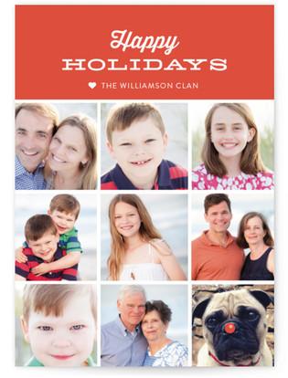 Modern Tag Holiday Postcards