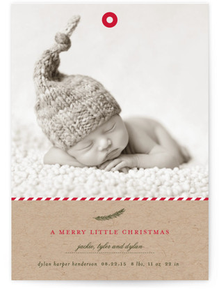 A Merry Little Christmas Holiday Postcards