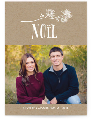 Noel Sprig Holiday Postcards