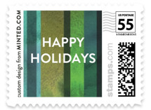 Checking It Twice Holiday Stamps