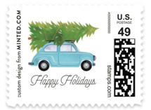 Little Christmas Big City Holiday Stamps