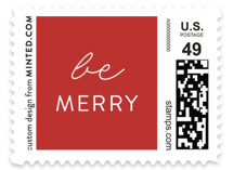 Merry Crossmas Holiday Stamps