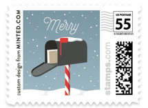 Merry Mailbox by Iron Range Artery