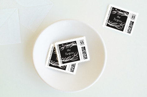 Botanic Blessings Holiday Stamps