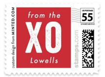 FA LA Love Holiday Stamps
