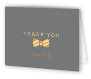 Bow Tie Boy Oh Boy Baby Shower Thank You Cards