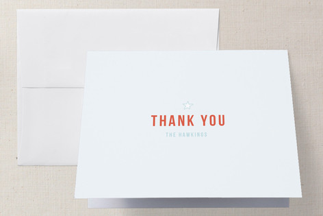 Pastime Baby Shower Thank You Cards