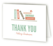 Book It Baby Shower Thank You Cards