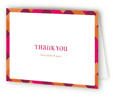 Baby Z Baby Shower Thank You Cards