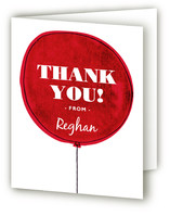 The Balloon Baby Shower Thank You Cards