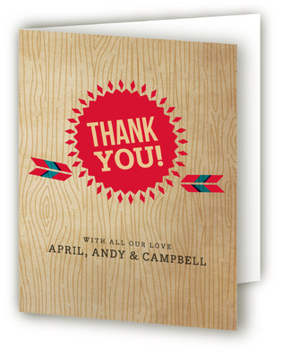 Backyard Barbeque Baby Shower Thank You Cards