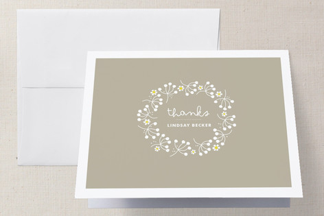 Full of Joy Baby Shower Thank You Cards
