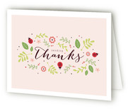 Ladybug Love Baby Shower Thank You Cards