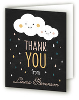 Raindrops Baby Shower Thank You Cards