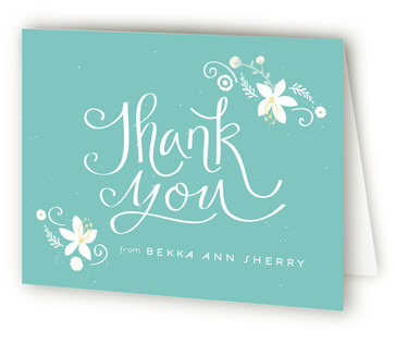 A Baby Shower Baby Shower Thank You Cards