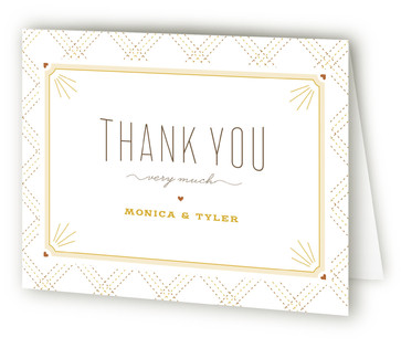 Sweet initial Baby Shower Thank You Cards
