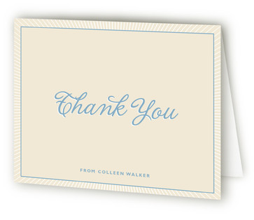 Certified Baby Shower Thank You Cards