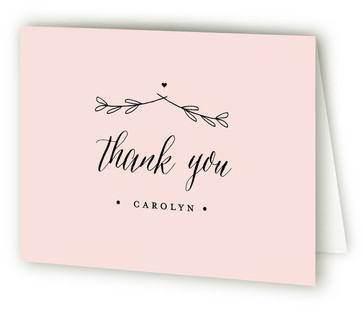 The Meadow Baby Shower Thank You Cards