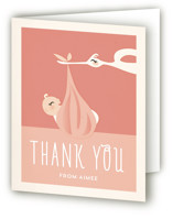 Bonjour Baby Shower Thank You Cards