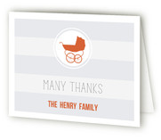 Urban Baby Baby Shower Thank You Cards