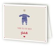 Le Petit Pyjama Etoile Baby Shower Thank You Cards