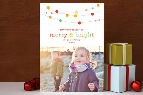 Merry Bright Season Holiday Photo Cards