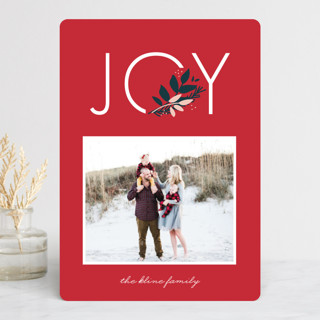 Joy to You Holiday Photo Cards