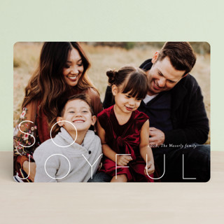 S O  M E R R Y Holiday Photo Cards