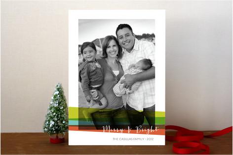 Bright Holidays Holiday Photo Cards