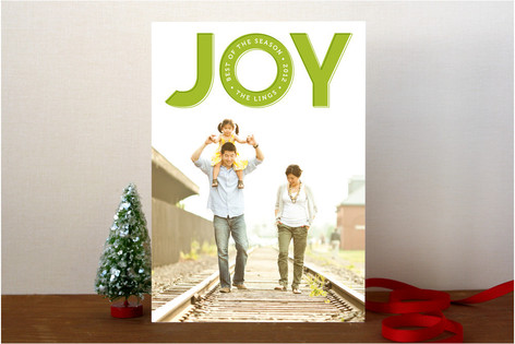 Best of the Season Holiday Photo Cards
