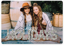 Bold Sparkle Holiday Photo Cards