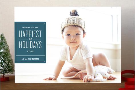 Ex Libris Holiday Photo Cards