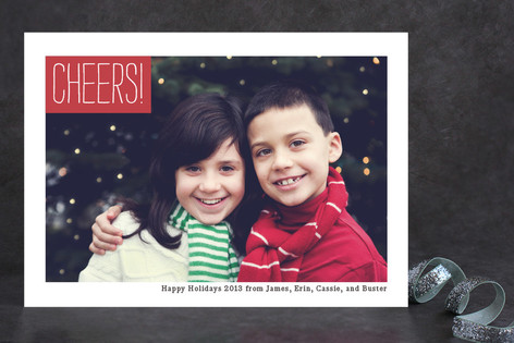 Modern Mark Holiday Photo Cards