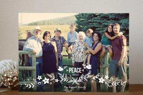 Holiday Laurel Holiday Photo Cards