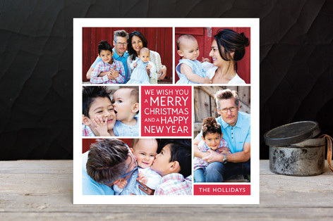 Family Framed Holiday Photo Cards