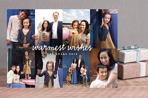 Photomontage Holiday Photo Cards