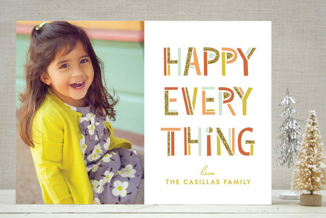 Merry Bright & Sparkly Holiday Photo Cards